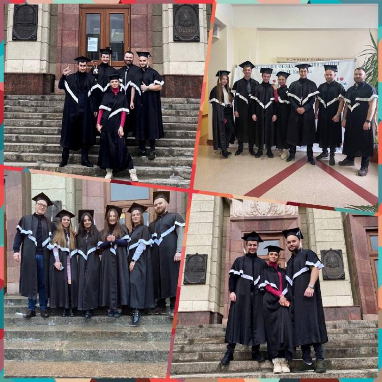 Привітання випускникам!
