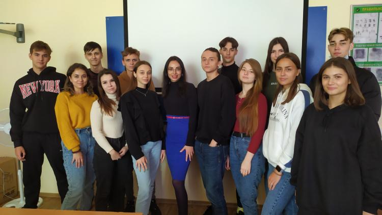Засідання студентського наукового гуртка кафедри конституційного і муніципального права